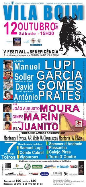 Quinto Festival de Beneficência de Vila Boim