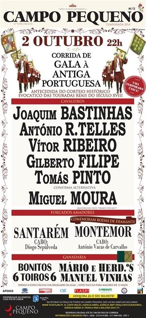 Crónica da corrida de Gala à Antiga Portuguesa no Campo Pequeno