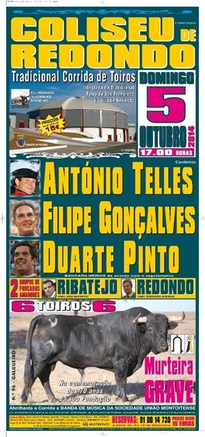 Gonçalves e Pinto triunfaram na última do Coliseu de Redondo