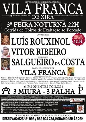 Vila Franca de Xira, corrida de exaltação ao forcado amador