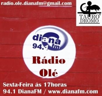 Rádio Olé da DianaFM de Évora, irá para o ar pelo quarto ano consecutivo