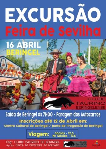 Clube Taurino Beringelense visita Sevilha