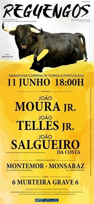 11 de Junho há toiros em Reguengos