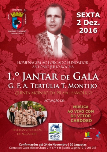 1º Jantar de Gala da T.T. Montijo