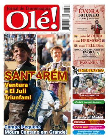 Jornal Olé 404, hoje nas bancas