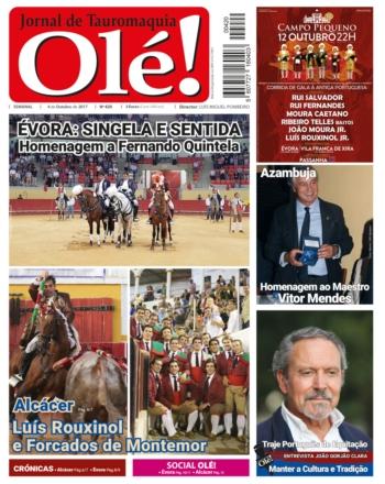 Jornal Olé! 420, hoje nas bancas