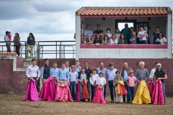 Alunos do Campo Pequeno tentaram na ganadaria de Gregório Oliveira