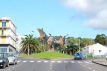 Toiros como Monumento na Terceira