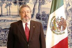 Embaixador do México no Campo Pequeno dia 18 de Junho
