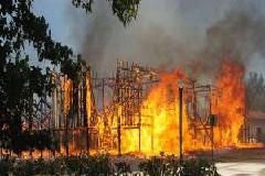 Incêndio deixou em cinzas Praça de Touros Francesa