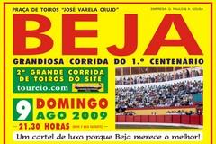 1º Centenário da Praça de Toiros de Beja dia 9 de Agosto