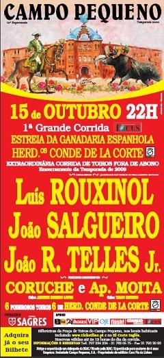 Luís Rouxinol com os