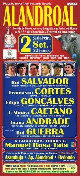 No Alandroal, Triunfos para Francisco Cortes e Amadores da Azambuja
