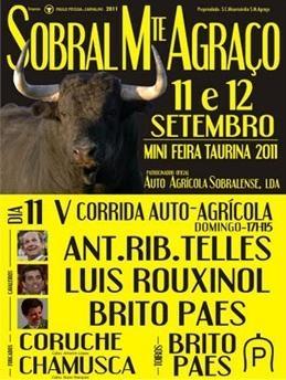 No Sobral de Mte Agraço, valeram António Telles e Luís Rouxinol!