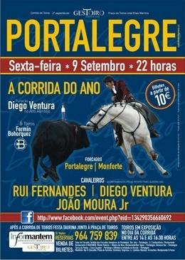 Vento forte em Portalegre com a proximidade do Furacão Ventura