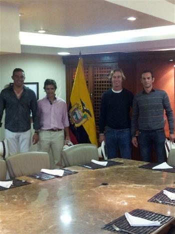 Rui Fernandes na Câmara de Comércio e Indústria do Equador