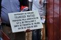 Imagens da homenagem ao forcado Francisco Matias em Tolosa