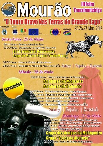 Mourão recebe a partir de hoje a III Feira Transfronteiriça 2012