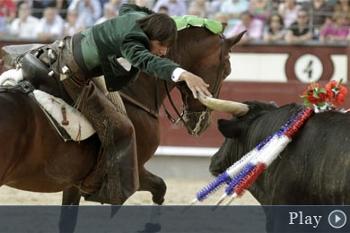 Diego Ventura sai pela porta grande em Las Ventas...