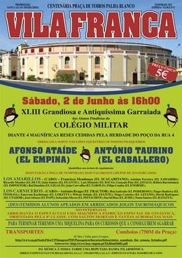 Palha Blanco recebe a XLIII Garraiada do Colégio Militar