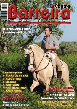 Edição de Julho da revista Contra Barreira