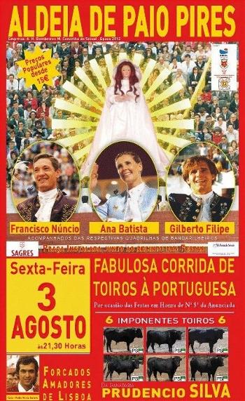 Cartel da Corrida de Aldeia de Paio Pires, 3 de Agosto