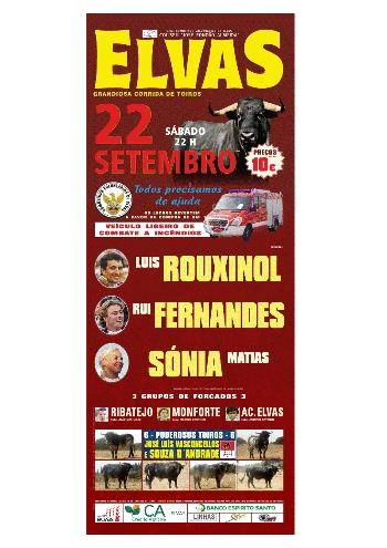Corrida de Touros em Elvas, dia 22 de Setembro
