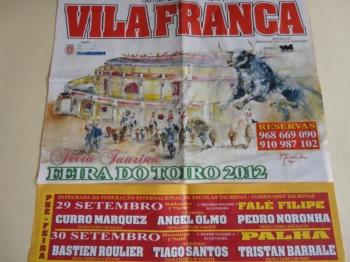 IV edição da Feira de Novilhadas da Federação Internacional de Escolas Taurinas na Palha Blanco