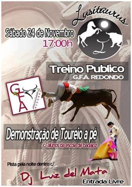 Treino Público GFA Redondo (Lusitauros)