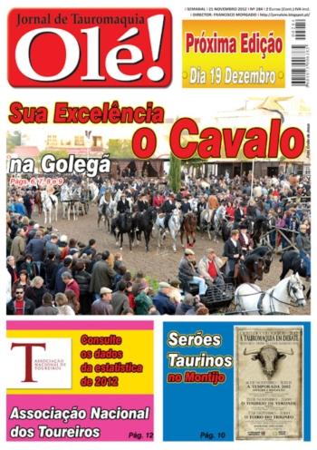 Olé Jornal de Tauromaquia Nº 284