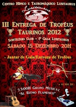 III Entrega de Troféus Taurinos 2012 (Lusitauros)