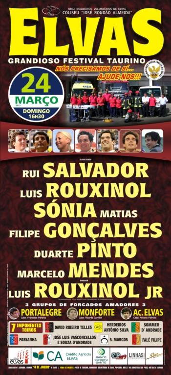 Cartaz do Festival de Elvas, 24 de Março
