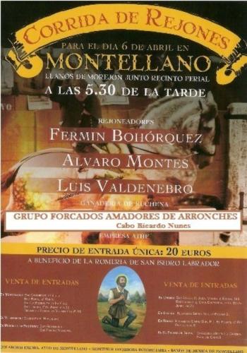 Amadores de Arronches em Montellano (Espanha)