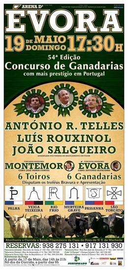 54º Concurso de Ganadarias de Évora