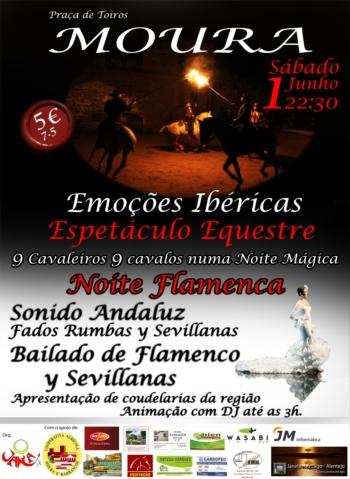 Espectáculo equestre e musical em Moura