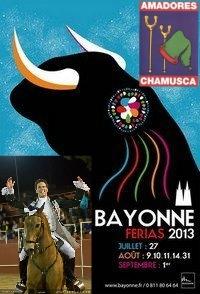 Marcos Bastinhas e Amadores da Chamusca hoje em Bayonne (França)