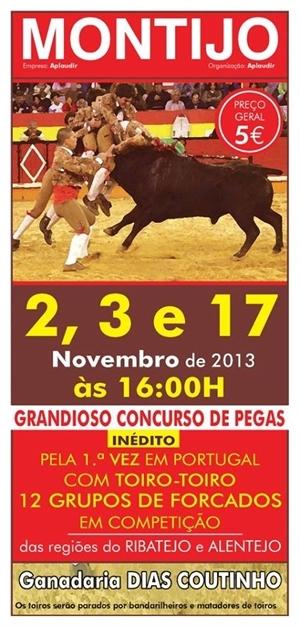 Demonstração de Pegas dia 17 de Novembro no Montijo - Substituição de Júri