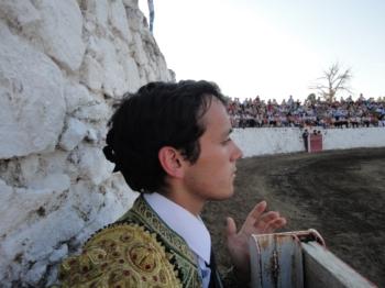 João Martins o triunfador da novilhada sem picadores em Saint-Gilles(Nimes)