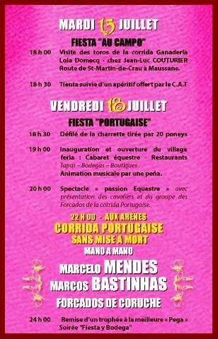 Cartel Português em Châteaurenard (França)