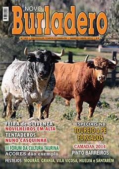 Revista Novo Burladero Nº 303 nas bancas a partir da próxima semana