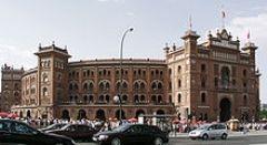 Domingo de Ramos corrida de toiros em Madrid