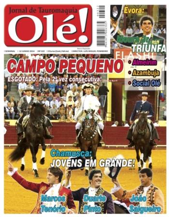 Edição Jornal Olé nº 322 (dia 12 de Junho) - nas bancas semanalmente à 5ª feira