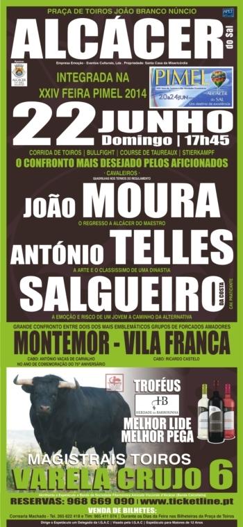 Francisco Núncio substitui João Moura na corrida da PIMEL em Alcácer do Sal