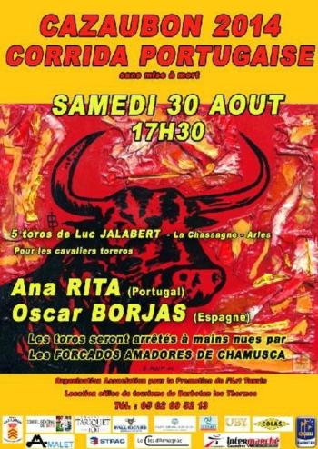 Ana Rita e Amadores da Chamusca em Cazaubon (França)