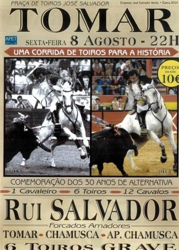 Encerrona de Rui Salvador, dia 8 de Agosto em Tomar