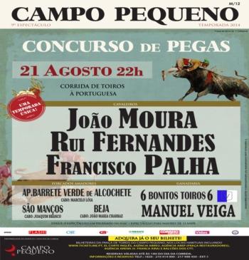 Concurso de Pegas - 21 de Agosto - Campo Pequeno
