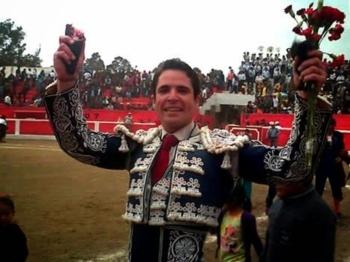 Triunfo de Diogo dos Santos em Mache (Peru)