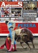 Revista Aplausos Semanario Taurino nas bancas