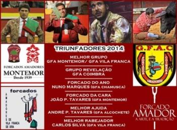 Triunfadores Forcado Amador 2014
