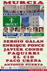 Festival Taurino de Beneficência em Murcia